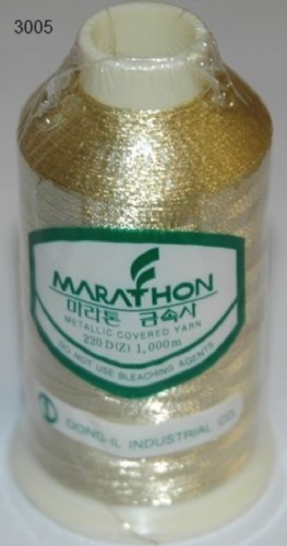 Marathon Rayon Embroidery Machine Thread Metallic - 3005
